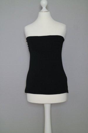 H&M Off the shoulder top zwart