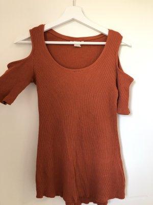 H&M Camicia maglia ruggine