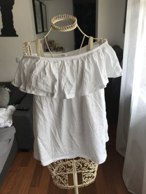 Schulterfreies Tshirt