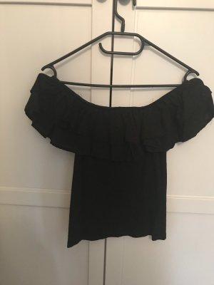 H&M Blouse Carmen noir