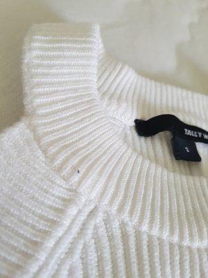 Tally Weijl Crochet Top white viscose