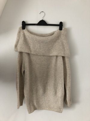 H&M Robe en laine crème-blanc cassé laine