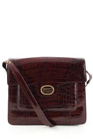 Shoulder Bag bordeaux elegant
