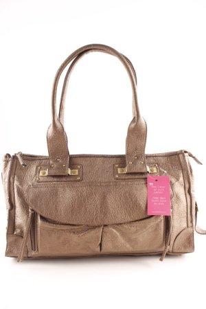 Shoulder Bag bronze-colored casual look