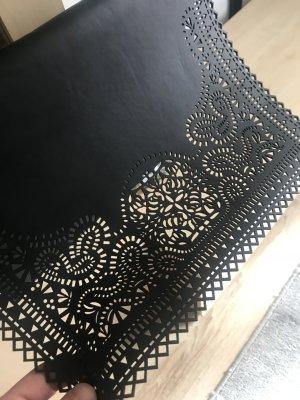 Schultertasche , Cluch in schwarz
