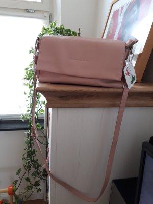 Clutch stoffig roze