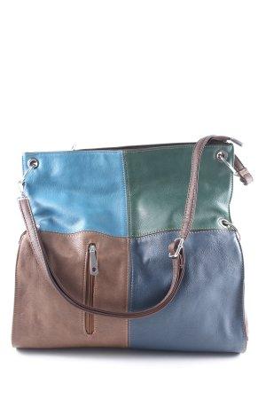 Shoulder Bag color blocking casual look