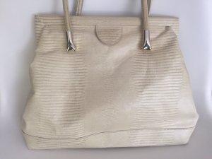 Shoulder Bag cream leather