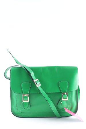 Schultertasche grün extravaganter Stil