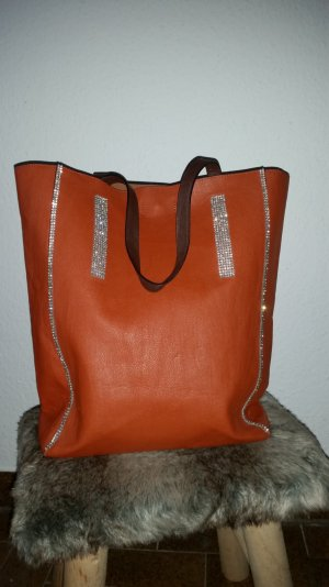 Gina Benotti Carry Bag dark orange polyester