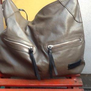 Schultertasche Oder auch Handtasche Von Marco Polo in navy Gruen!