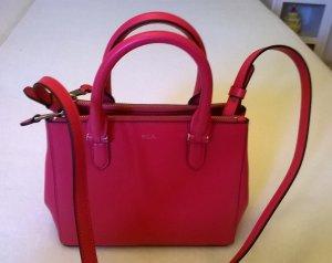 Schultertasche pink von Ralph Lauren -Original-