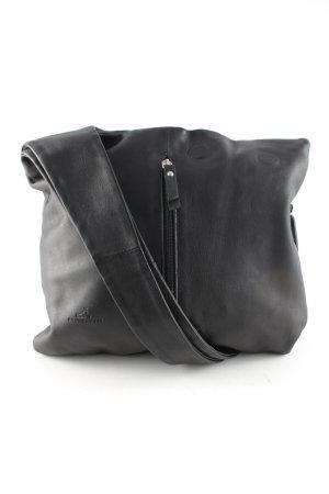 Shoulder Bag black simple style