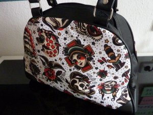 Bowling Bag multicolored cotton