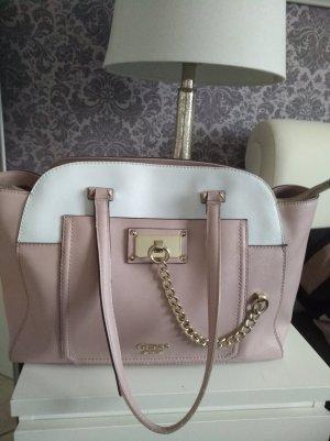 Guess Bolso blanco-rosa