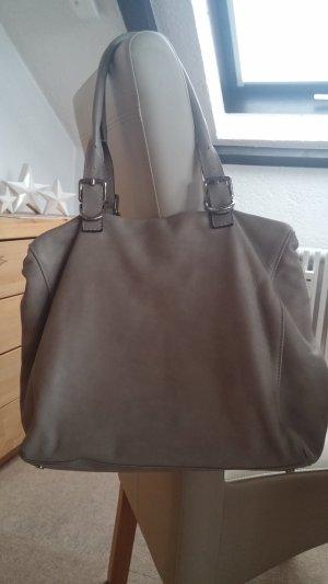 abro Shoulder Bag light grey-taupe