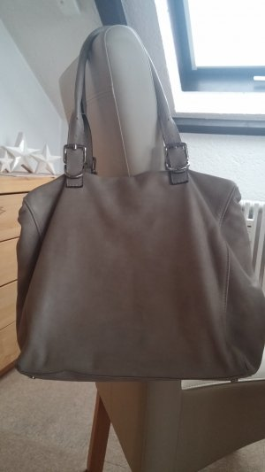 abro Shoulder Bag light grey-taupe