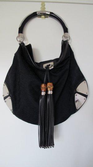 """Schultertasche von Gucci in Schwarz - Modell """"Indy Bag""""  NP 1800,-€ !! RESERVIERT BIS 23.06.17 !!"""