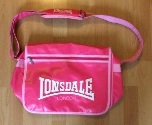 Schultertasche von Lonsdale London in pink (NEU)