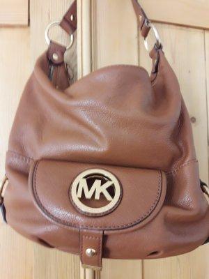 Michael Kors Shoulder Bag cognac-coloured