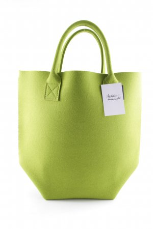 Shoulder Bag meadow green flecked casual look