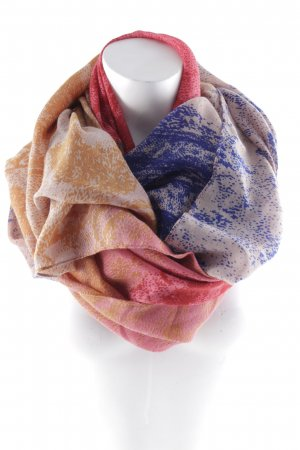 Shoulder Scarf abstract pattern casual look