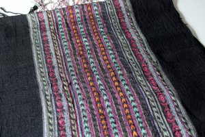 Shoulder Scarf multicolored cotton