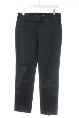 Schumacher Anzughose schwarz-dunkelgrün Business-Look
