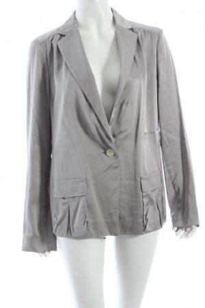Schumacher Blazer silberfarben Business-Look