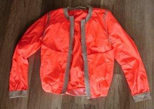 Schumacher Blouson Neon Orange Nude Frühling Übergang leichte Jacke