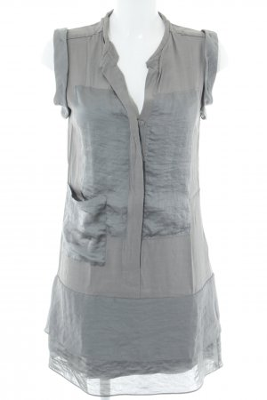 Schumacher Blusenkleid grau-anthrazit Casual-Look