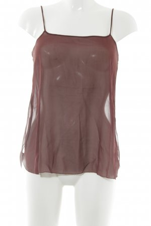 Schumacher Camisole bordeauxrot Casual-Look