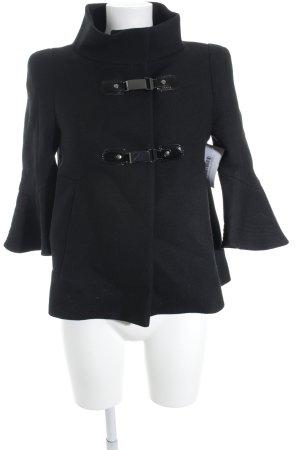 Schumacher Cape black flecked elegant
