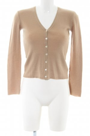 Schumacher Cardigan creme Business-Look