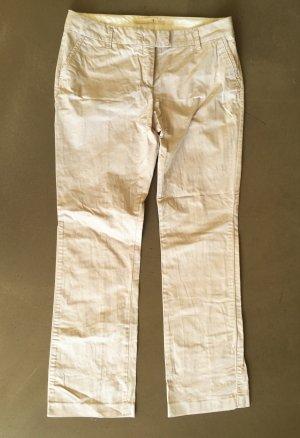 * SCHUMACHER * CHINO HOSE hell beige Natur Baumwolle Gr 4  ca Gr 38 M