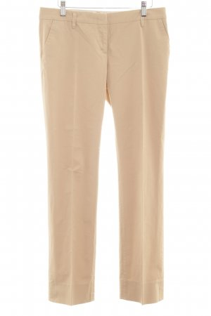 Schumacher Chinohose beige Business-Look