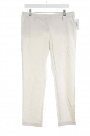 Schumacher Chinohose creme Business-Look