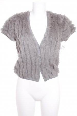 Schumacher Fur vest grey elegant
