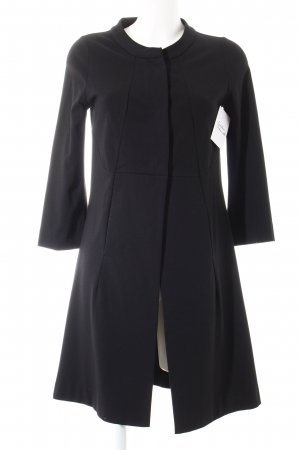 Schumacher Geklede jas zwart elegant