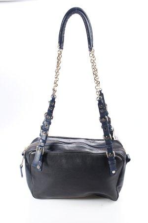 Schumacher Handtasche dunkelblau schlichter Stil