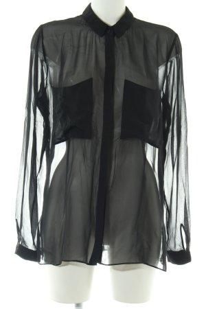 Schumacher Hemd-Bluse schwarz Elegant