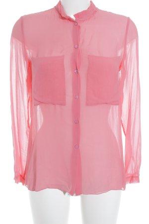 Schumacher Hemd-Bluse rosa Casual-Look