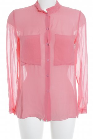 Schumacher Hemd-Bluse rosa Casual-Look
