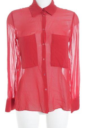 Schumacher Hemd-Bluse rot Casual-Look
