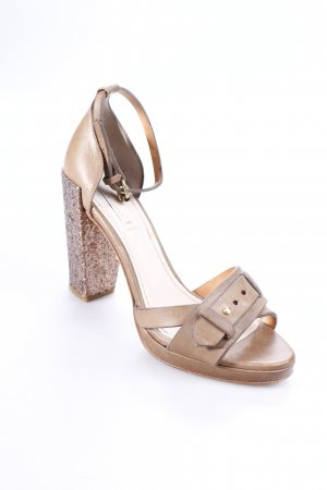 Schumacher High Heel Sandal light brown-rose-gold-coloured elegant