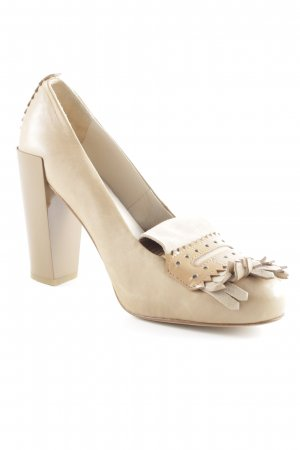 Schumacher High Heels beige-hellbeige Casual-Look