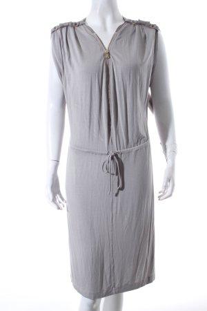 Schumacher Jerseykleid graugrün Eleganz-Look