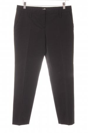 Schumacher Pantalone peg-top nero stile professionale