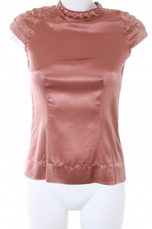 Schumacher Kurzarm-Bluse roségoldfarben Elegant