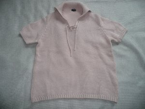Dorothee Schumacher Short Sleeve Sweater pink mixture fibre